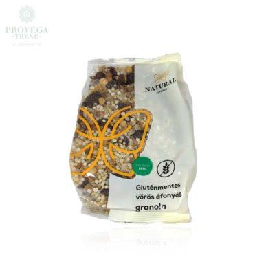 Natural-gluténmentes-áfonyás-granola-200g