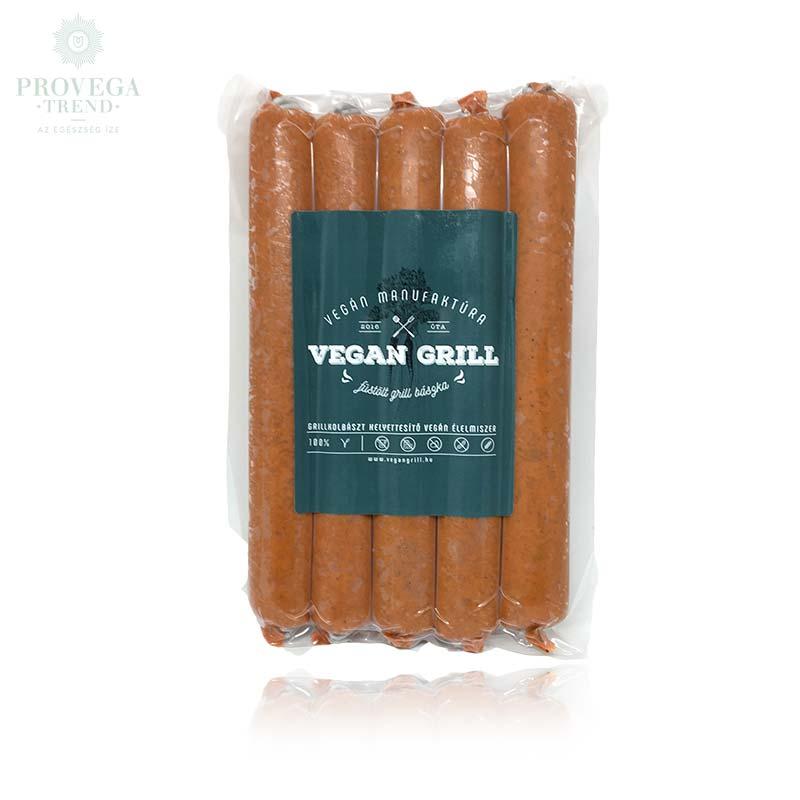 Veán grill füstölt grillkolbász