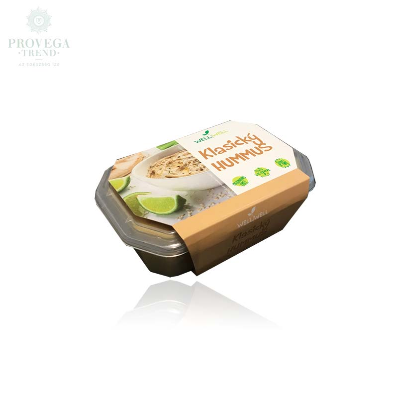 Wellwell-hummusz-150g