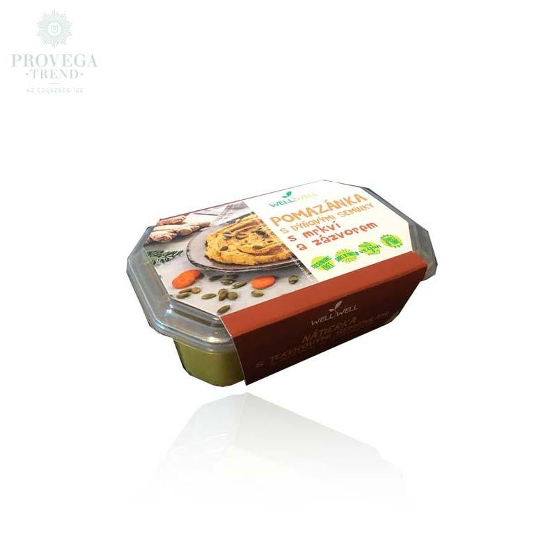 Wellwell-tökmagos-gyömbéres-vegán-sárgarépapástétom-125g